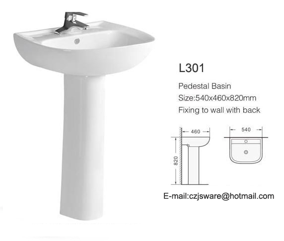 Pedestal Wash Baisns Suppliers Bathroom Basin