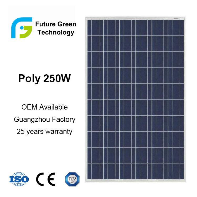 36V 200W Wholesale Renewable Photovoltaic Solar Energy PV Panel