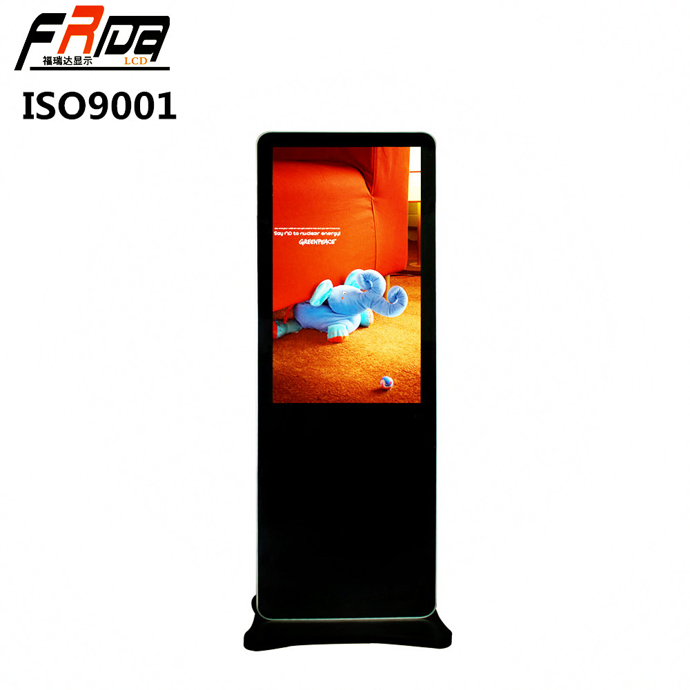 43 Inch TFT LCD Digital Signage / Panel Indoor Floor Standing for Multimedia Advertising Display& Screen Full HD