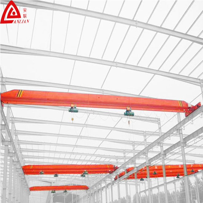 Industry Used 2tons Light Duty Overhead Crane with Electric