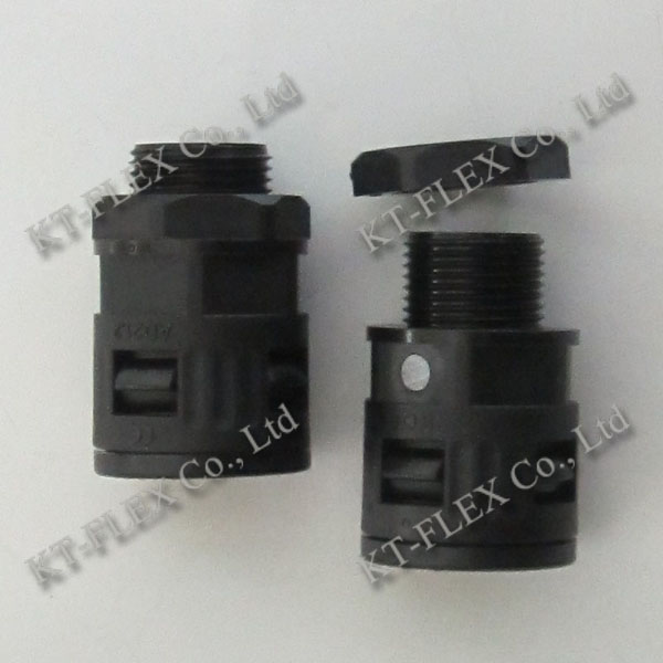 KT-FLEX 90 Degree Nylon Flexible Conduit Connector