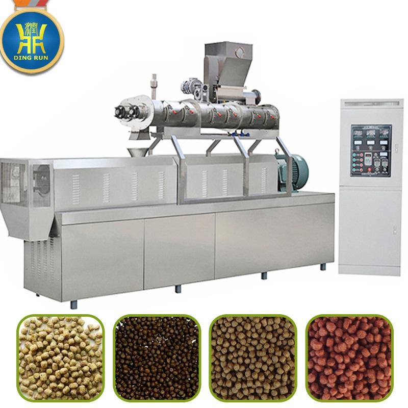 Automatic Dog Pet Food Machine / Pet Food Production Line