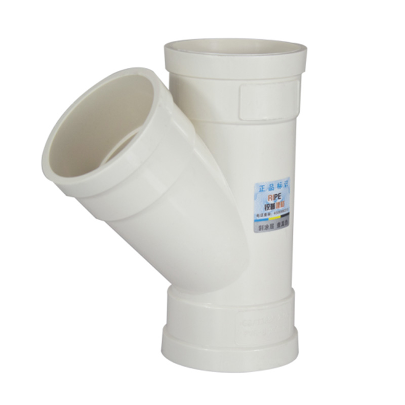 PVC Y-T Connector Water Pipe Fitting