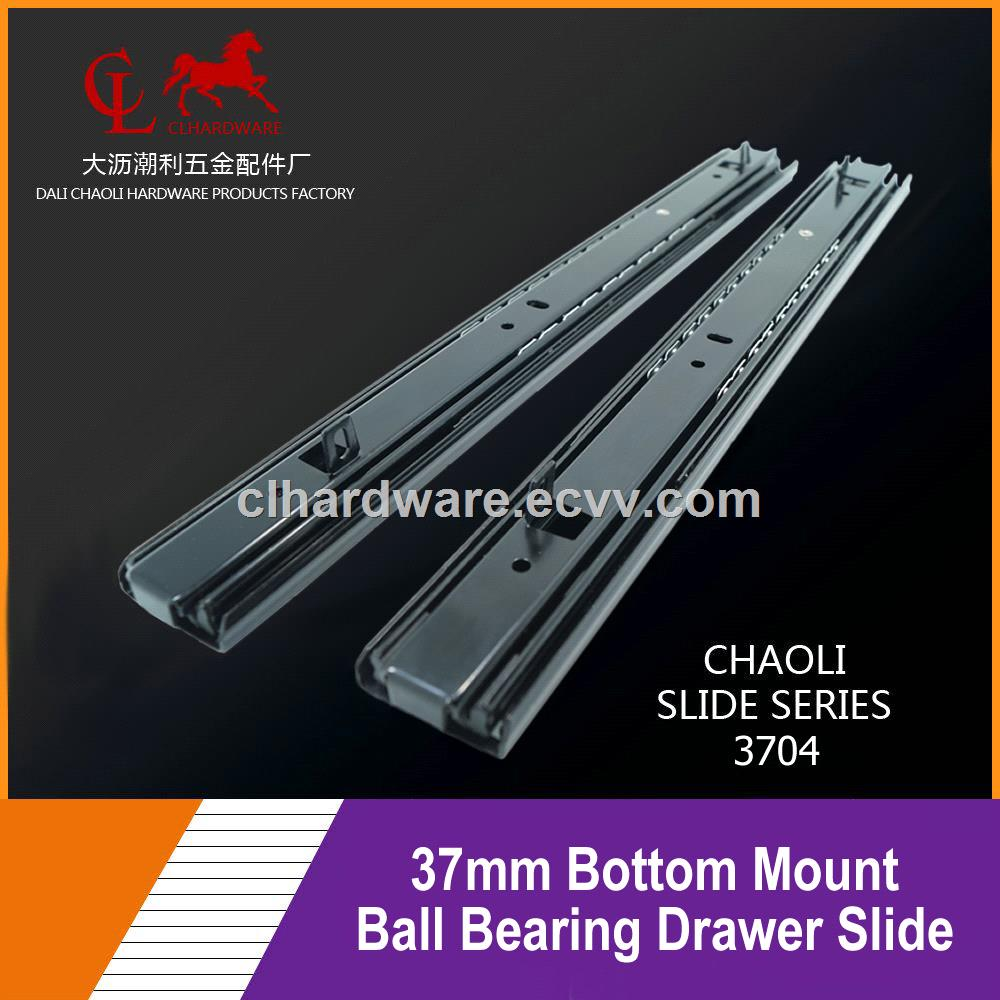 37mm Bottom Mount Ball Bearing Drawer Slide From China Manufacturer