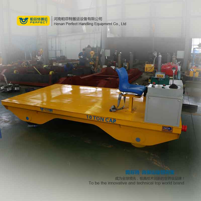 High Power Tractor Used in Steel Plate Casting Industry