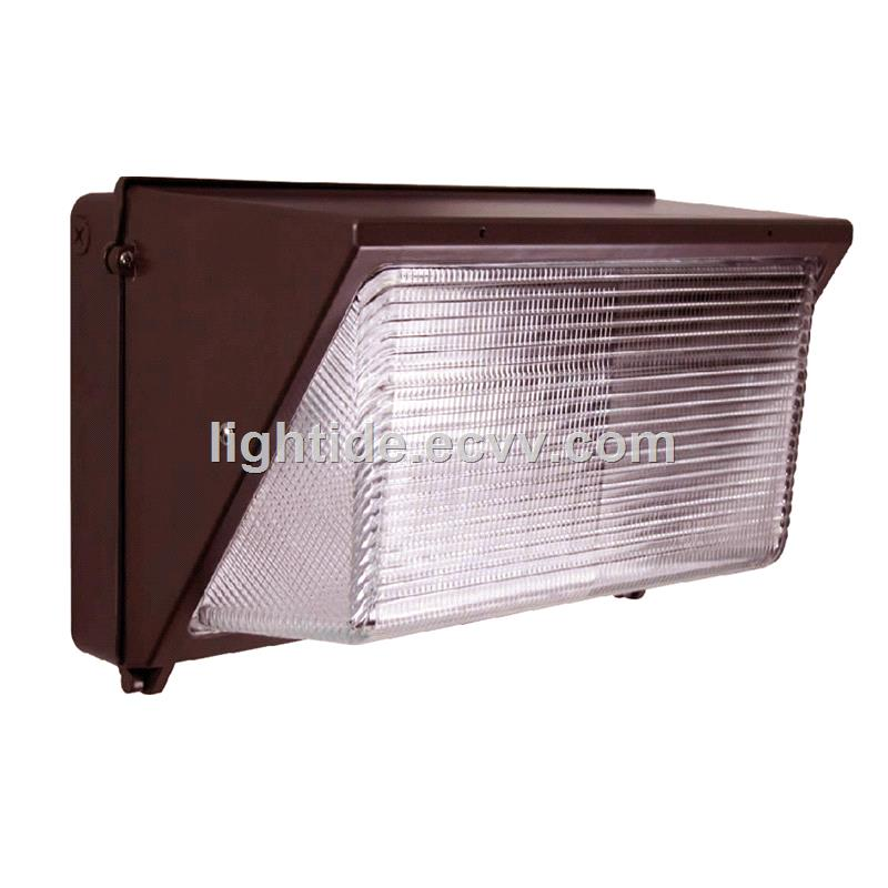 DLC Listed LED Wall Pack Lights, 40W, 100-277VAC, 5 Years Warranty