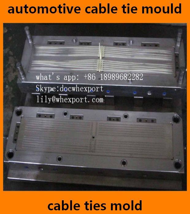 585171969ef0 Automotive Auto Car Plastic Nylon Zip Seal Cable Ties Injection Moulds Mould  Molds