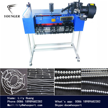 Roller Blinds Curtains Endless Loop Rosary String Beads Plastic Ball Ball Making Machine Machinery Device