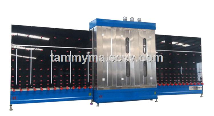 Vertical Glass Washing Machine Glass Processing Machinery