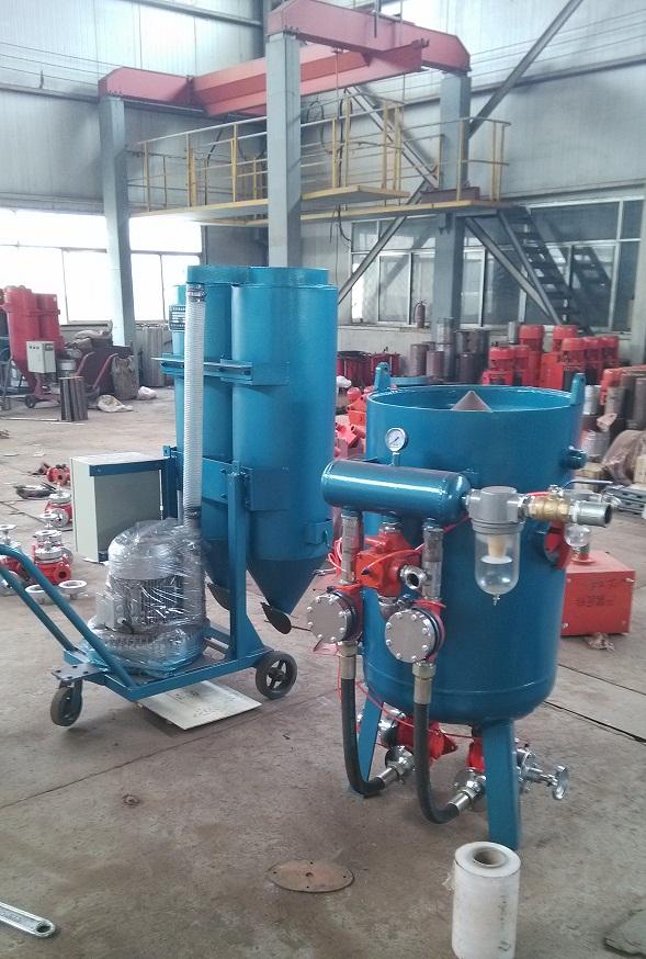 High Quality Sand Blasting Machine from China Manufacturer