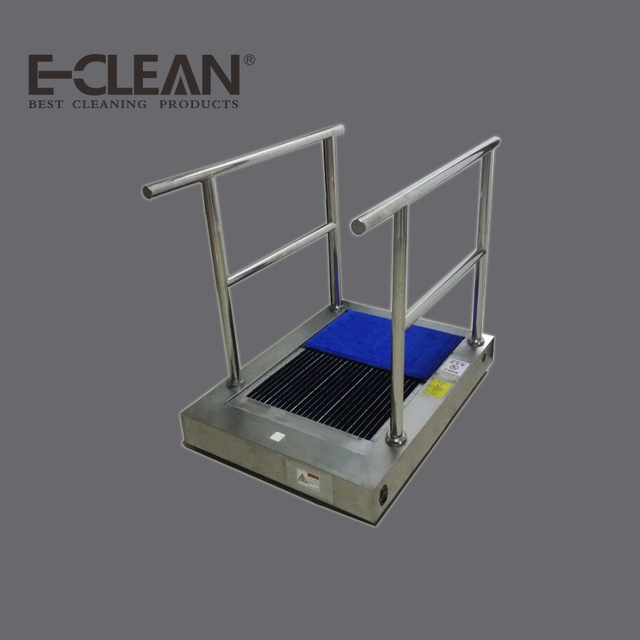 Different Sizes Industrial Automatic Shoe Sole Cleaning Machine for Pharmaceutical Companies EClean 3000