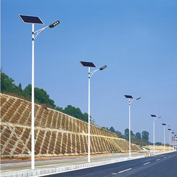 High 84 Watt Led Roadway Lighting Solar Street