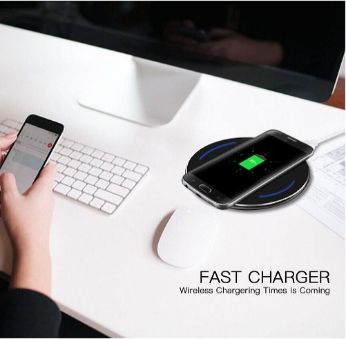 Fast Wireless Charger for Wireless Charging for Samsung Galaxy S8 S8 plus and All QiEnabled Devices