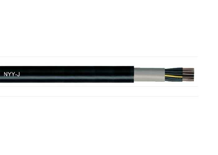 Power & Signal Cable 0,6/1 KV, PVC Insulated & Sheathed (NYY)