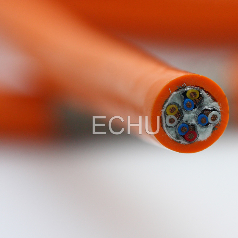 Unshielded Resistance to Bend PUR Drag Chain Cable EKM71900