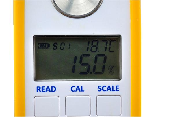 DR501 electronic humancat and dog urine hydrometer refractometer large LCD digital urine concentration hydrometer ser