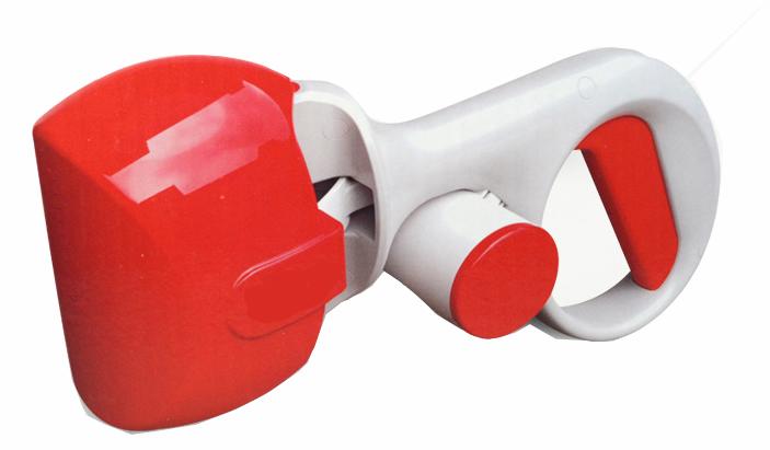 Dog plastic picker pick up clip high quality press pick up toilet
