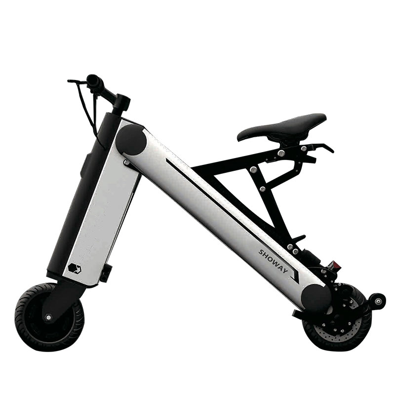 Showay-1 8inch Foldable Electric Bike Folding Electric Bicycle with Aluminium Alloy Frame & 8.8AH Lithium-Ion Battery