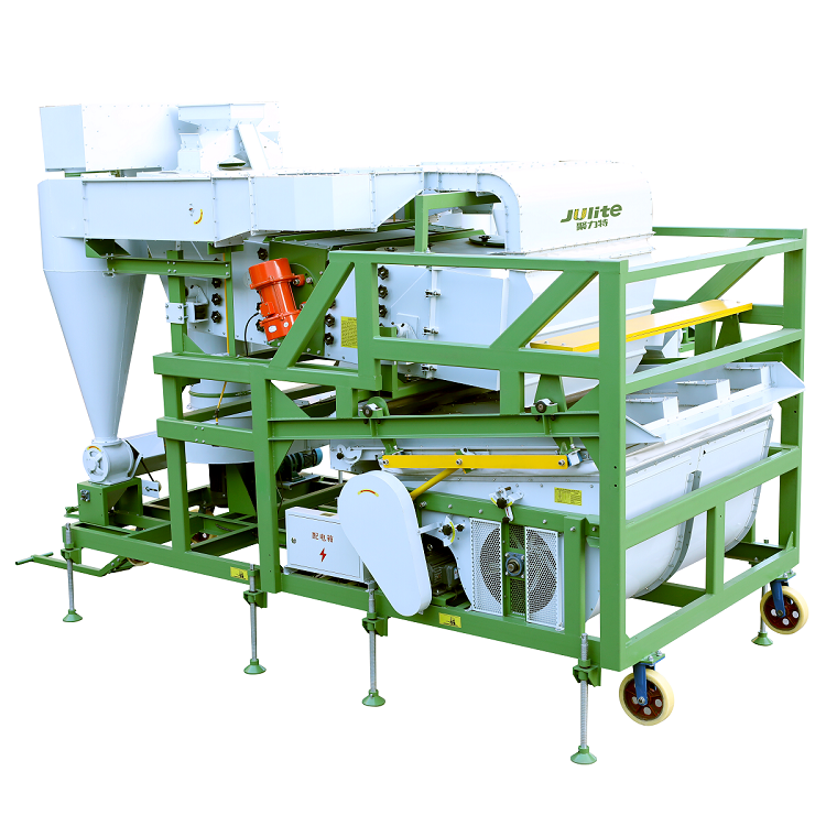 Agriculture Machine Uses Gravity Table Separating Grain Seed
