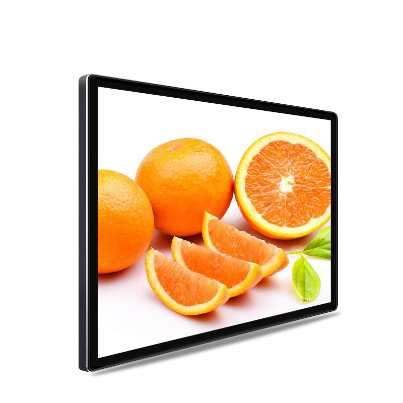 32 Inch New Design 18MM Thinckness Indoor Wall Mount LCD Digital Advertising Screen for Cinema