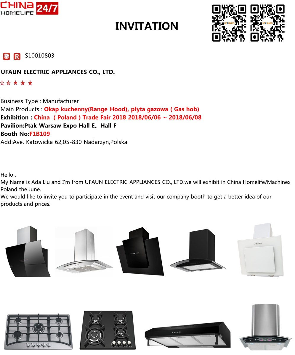 Ufaun Electric Appliances Co., Ltd.