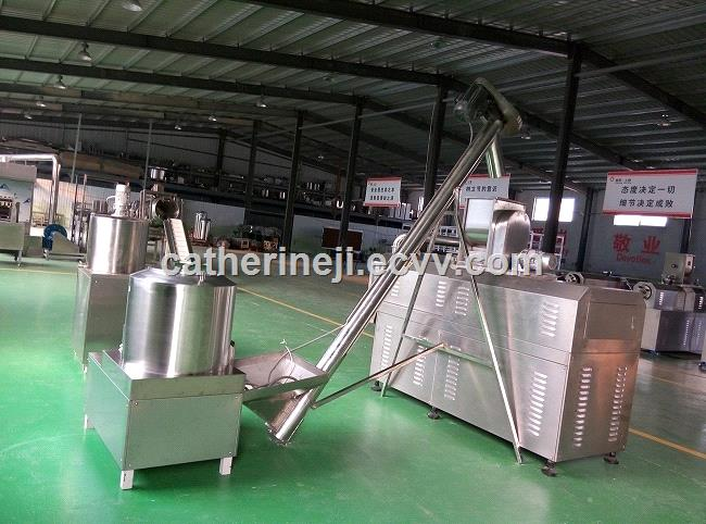 Puff Snacks Cereals Extruder Processing Line