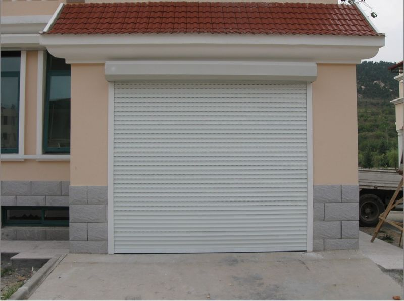 Insulated Rolling Shutter Garage Door With Remote Control Purchasing
