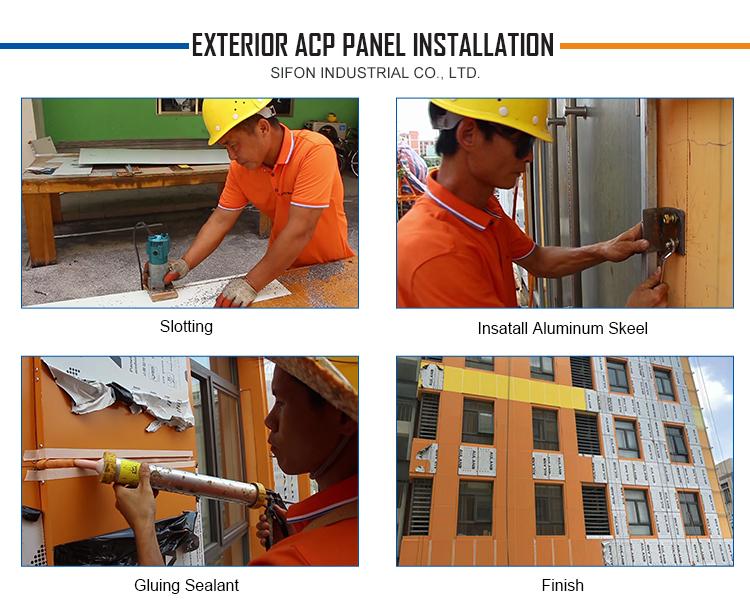 Auland Aluminium Composite Panel Cladding from China
