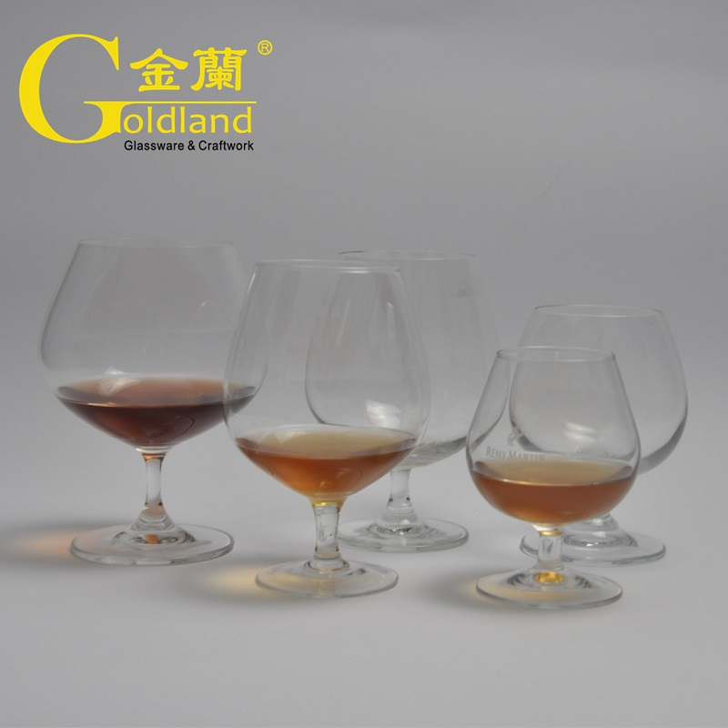 Personalised Etched Logo Brandy Snifter Glasses Set Purchasing