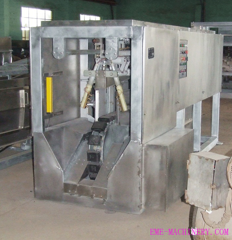 Tual-Point Numbing Stnned Machine Slaughter House Equipments