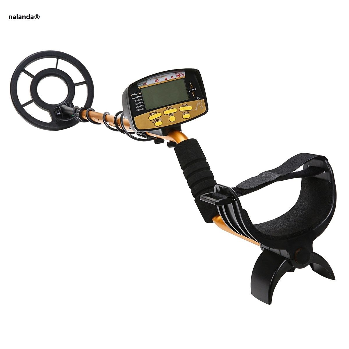 Nalanda Metal Detector with Multiple Modes & Tones Detector Discriminate Desired Targets Outdoor Gold Digger