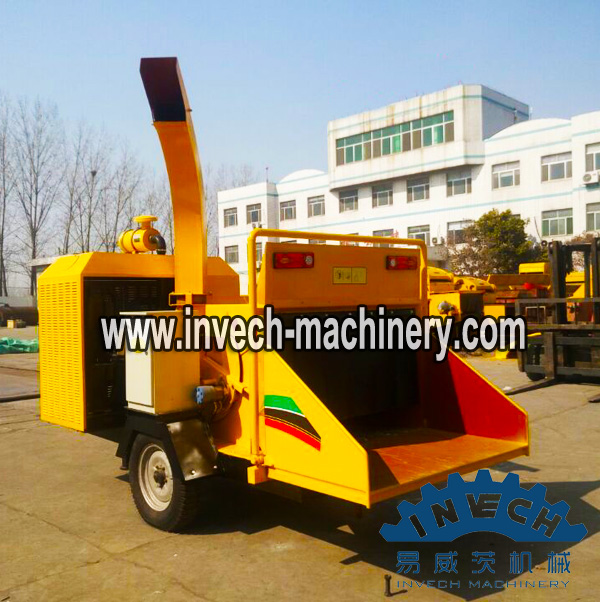 Movable Wood Chipper for Manure