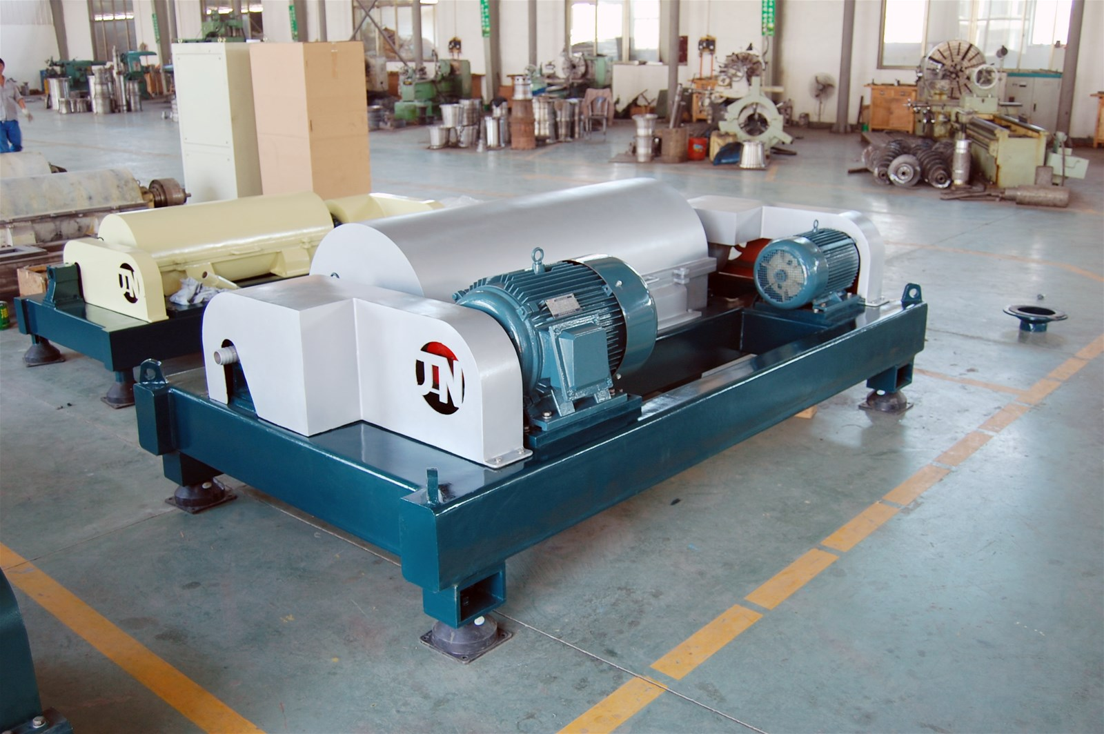 Waste Water  Treatment Equipment  Decanter Centrifuge for Sand Quarryu