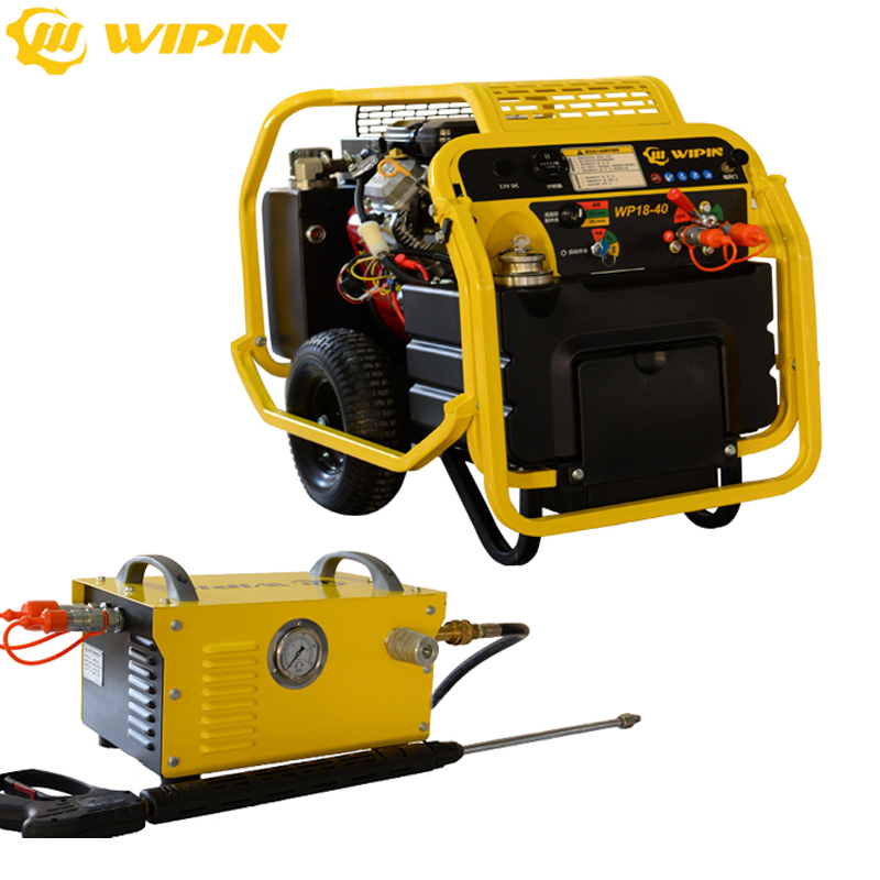 Portable Powerful Handheld Hydraulic High Pressure Cleaner