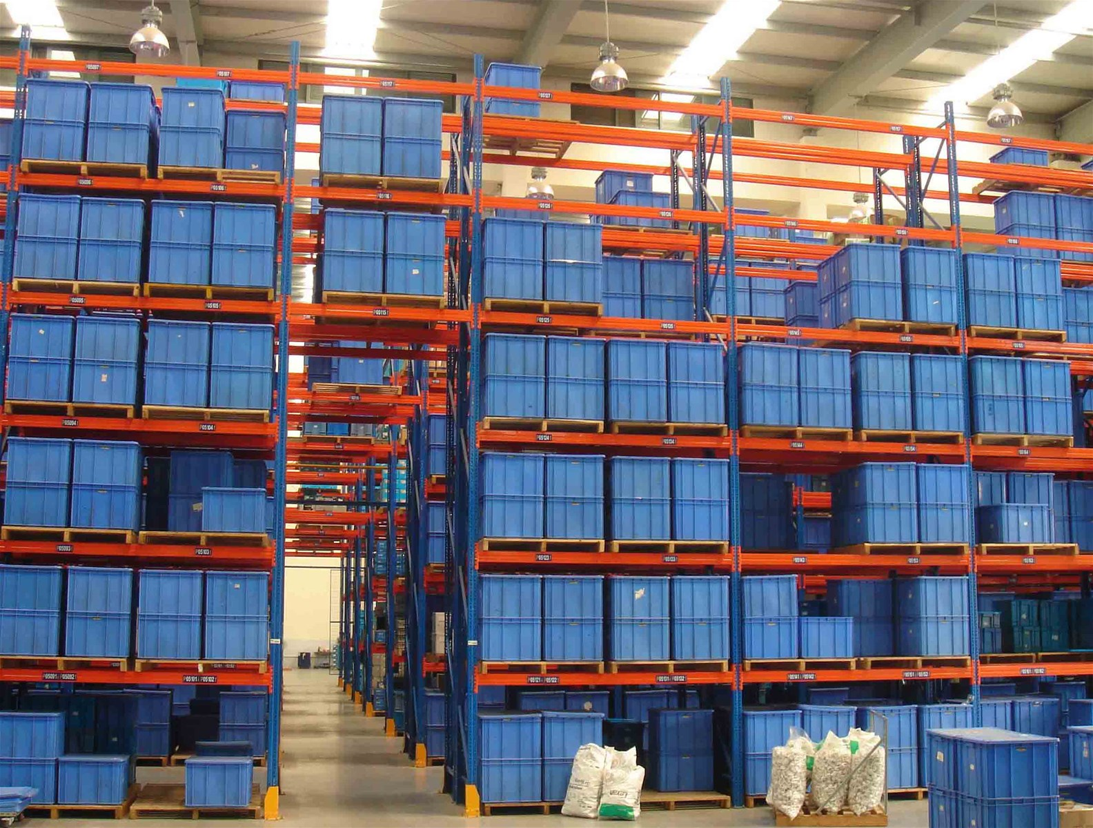 Heavy Duty Pallet Warehouse Racking Metal Storage Shelves