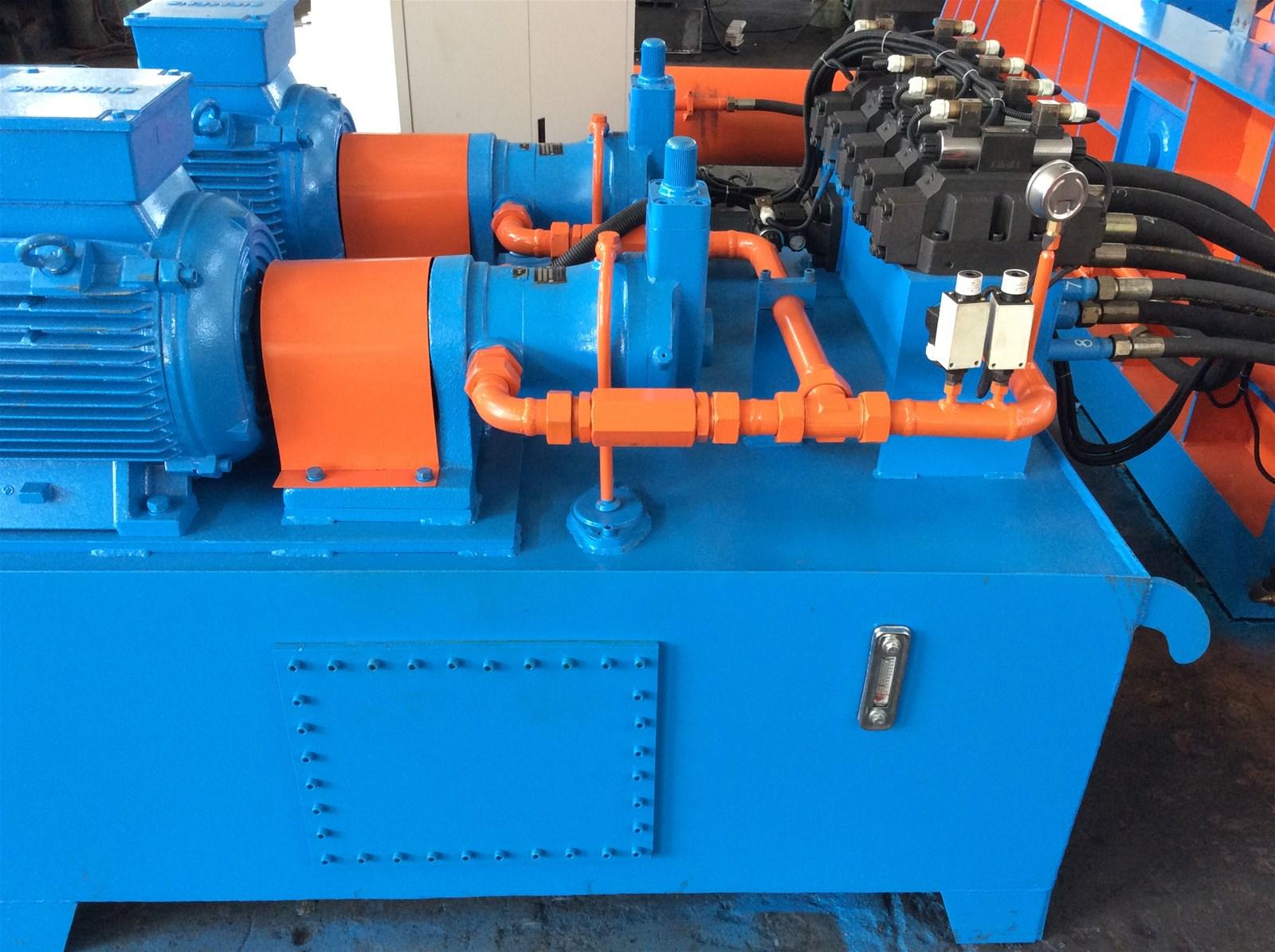 UK Baling System | Scrap Metal Baling Machine for Copper