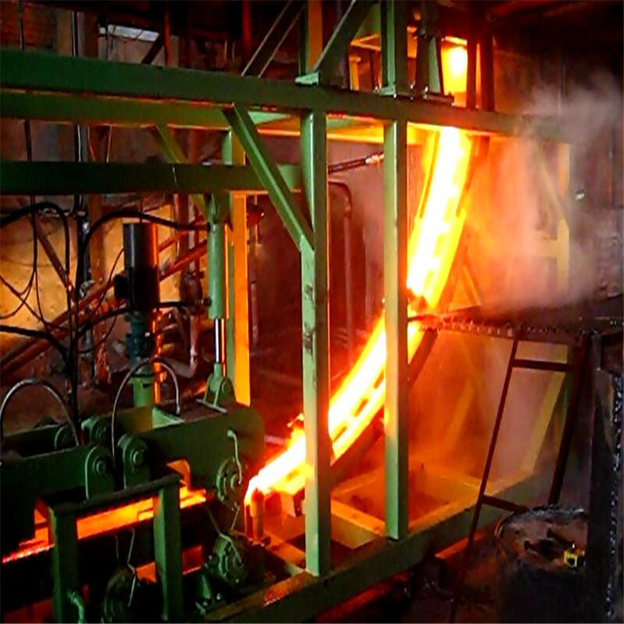 Small Size Billet 60-70mm R2 5m Continuous Casting Machine
