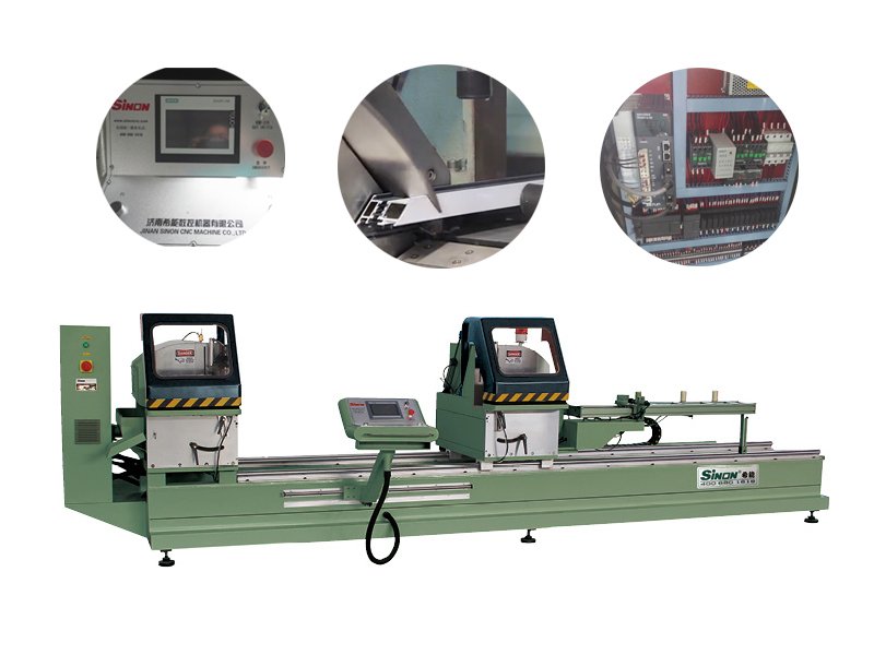 Aluminiuim Window Cutting Machine