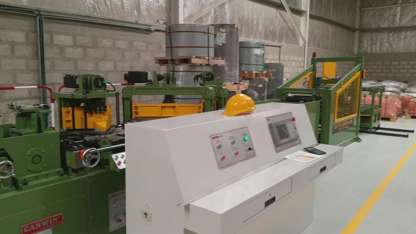 High Precision High Speed Steel Cut to Length Machine