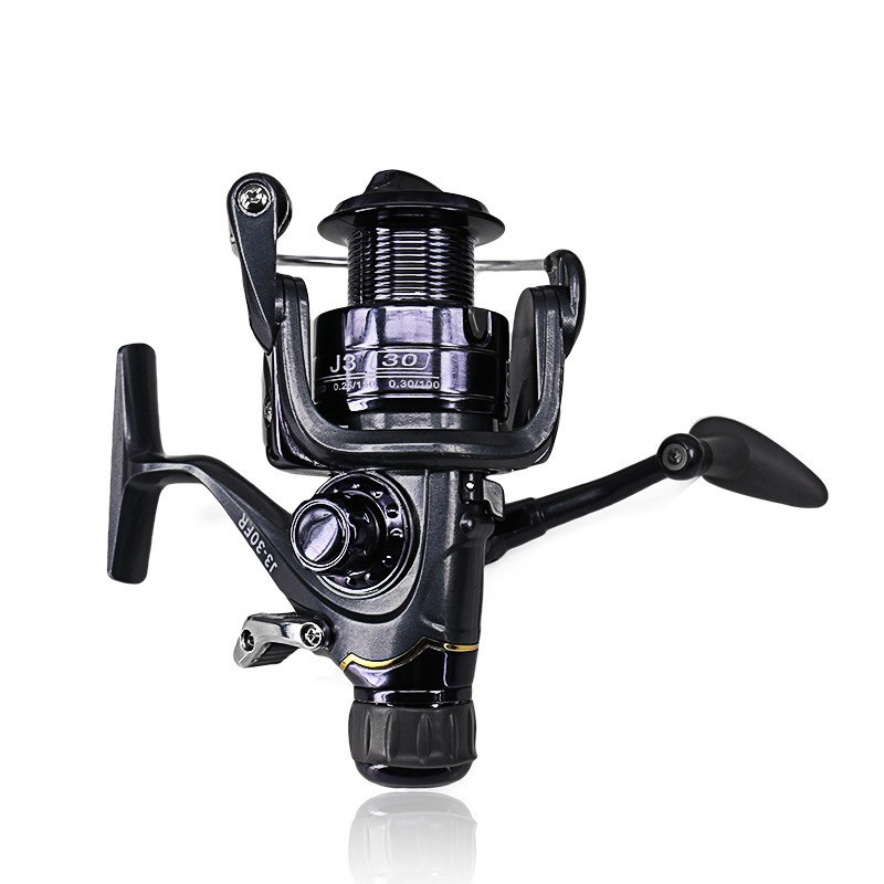 DEUKIO Spinning Fishing Reel Durable Front Rear Drag System Carp Fishing Wheel Saltwater Fish Reel Tackle J320FR