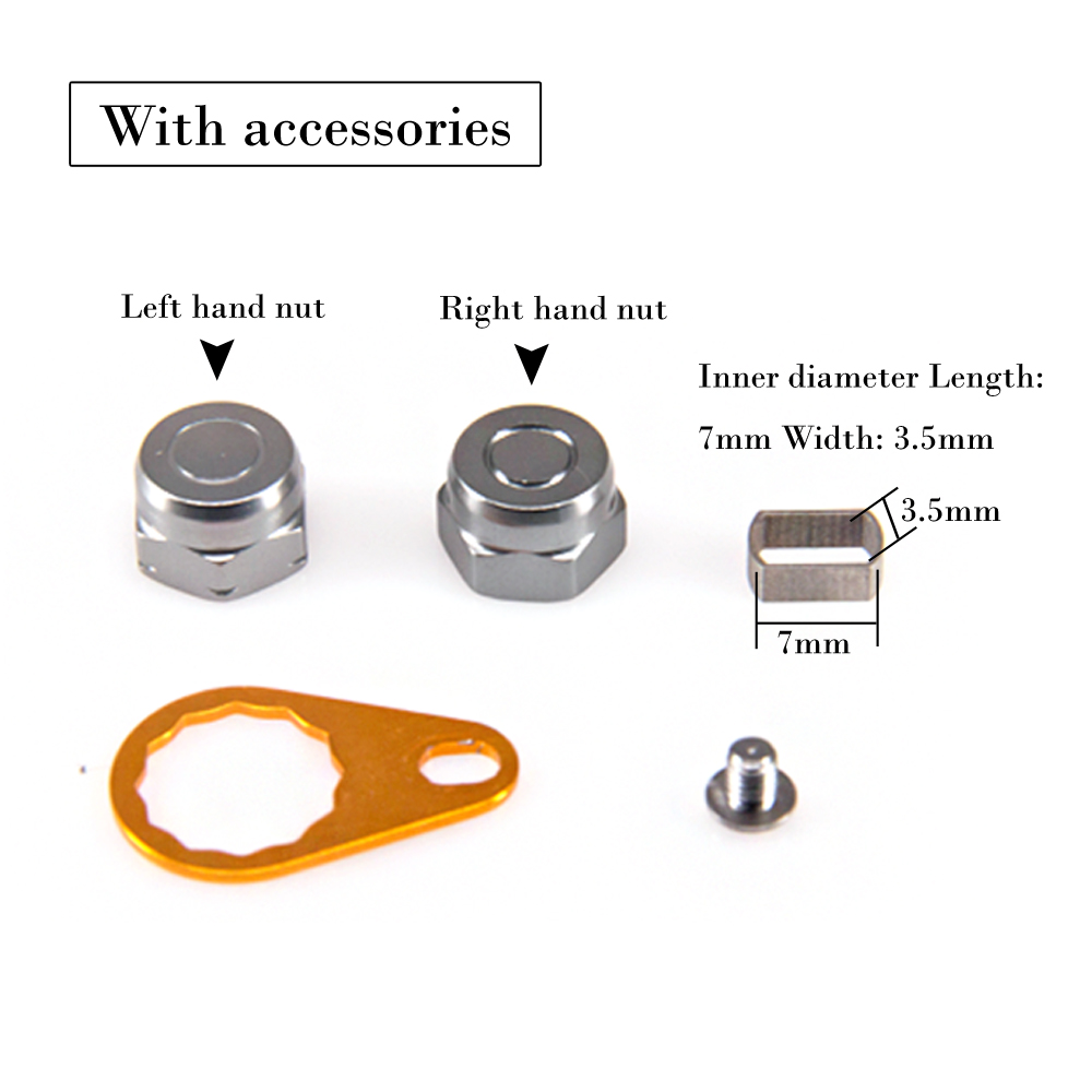 Full Metal Fishing Reel Rocker Strong Durable Reel Handle for Bait Casting Water Drop Wheel Fishing Handle Knob