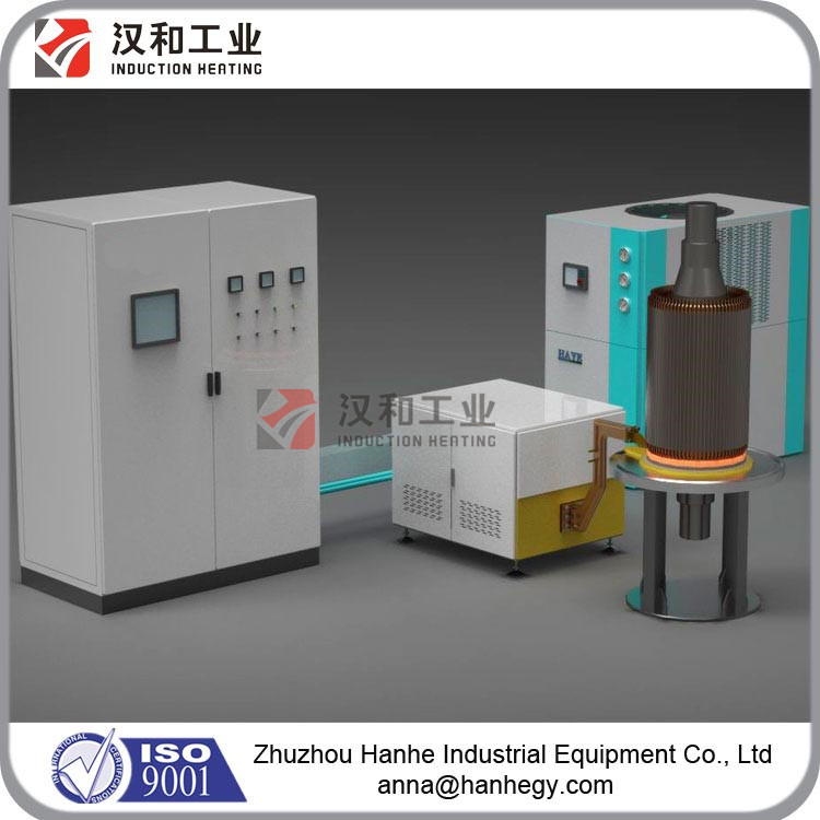 High Frequency Fast Heating Induction Welding Machine Price for Rotor End-Ring