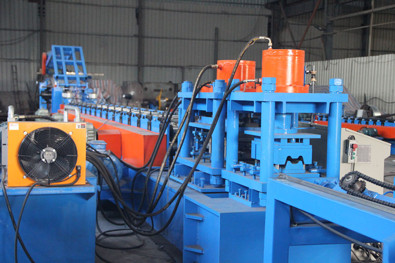 Hot Sale Roll Forming Machine For Guard Rail Highway Fence