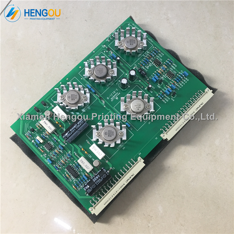 1 Piece Original Used 91.198.1443 SPV Circuit Board SM102 Printing Machine Power Supply Unit Karte SPV Board