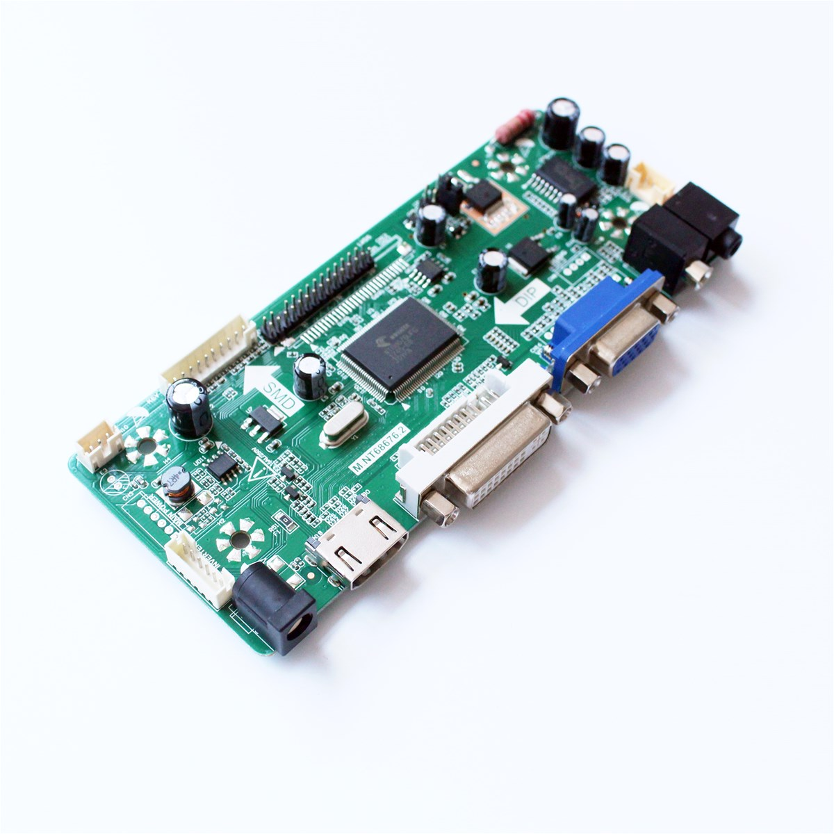 LCD TFT LCD Controller Board with HDMI DVI AUDIO VGA Input Interface Support Resolution 1600X900 Easy DIY LCD Module