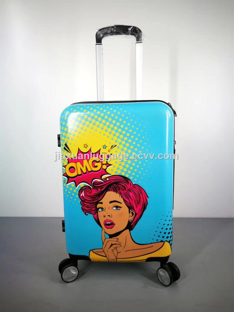 20 Inch Carry on Hard Shell Travel Trolley Luggage
