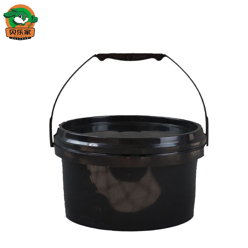Food Grade 3 Liter Clear Water Mini Plastic Bucket with Handle
