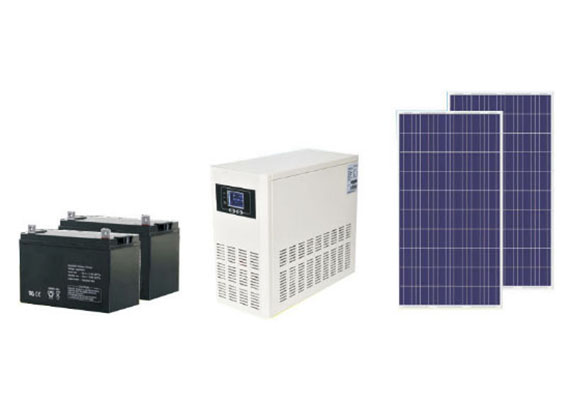Solar Power System with 6000W off Gird Solar Inverter
