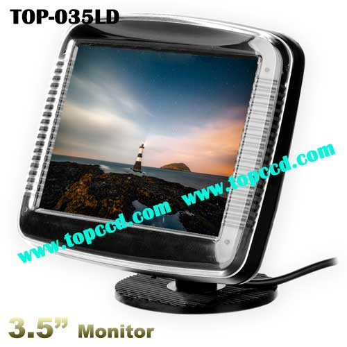 Universal 3.5 Inch Car Rear View Reversing Backup TFT LCD Screen Monitor (TOP-035LD)