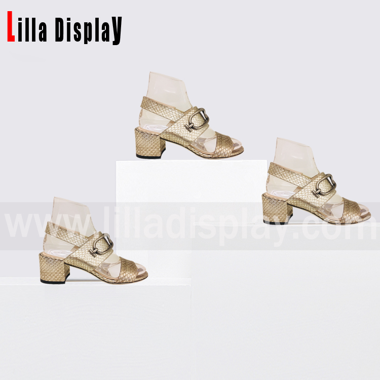 Lilladisplay-Shoes Store Use Crystal Shoes Display Stand for 4cm-6cm Heels Height Pumps Shoes, Wedges, High Heels Display